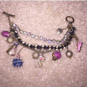 Cheerleader Charm Bracelet